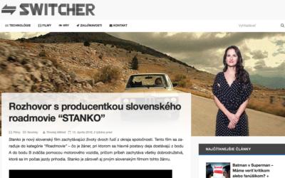 Rozhovor o filme Stanko s producentkou Barbarou Harumovou Hessovou v študentskom magazíne Switcher.