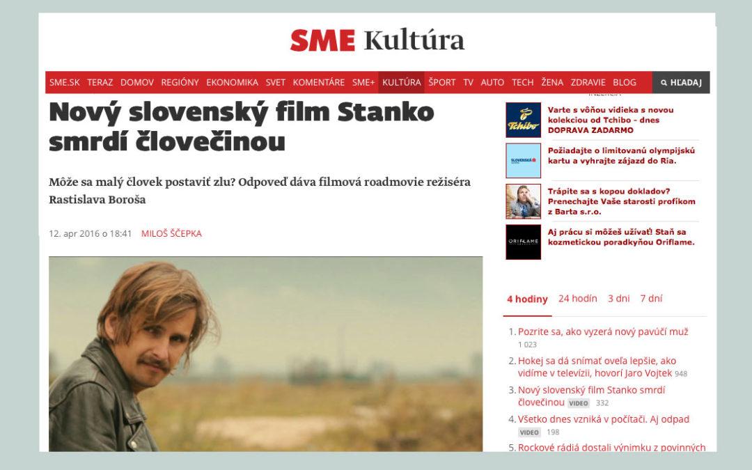 Nový slovenský film Stanko smrdí človečinou